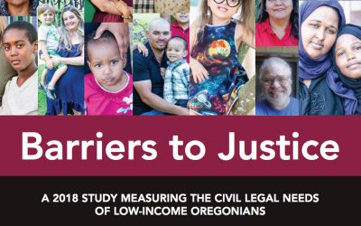 Study: Many poor Oregonians can't afford a lawyer to solve life-altering legal problems